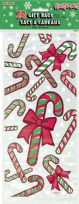 Candy Cane Cellophane Bags (20)